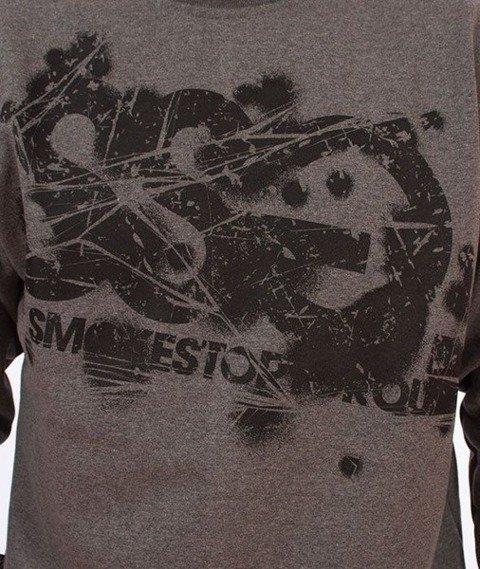 SmokeStory-Damage SSG Bluza Grafitowa