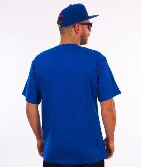 SmokeStory-Damage SSG T-Shirt Niebieski