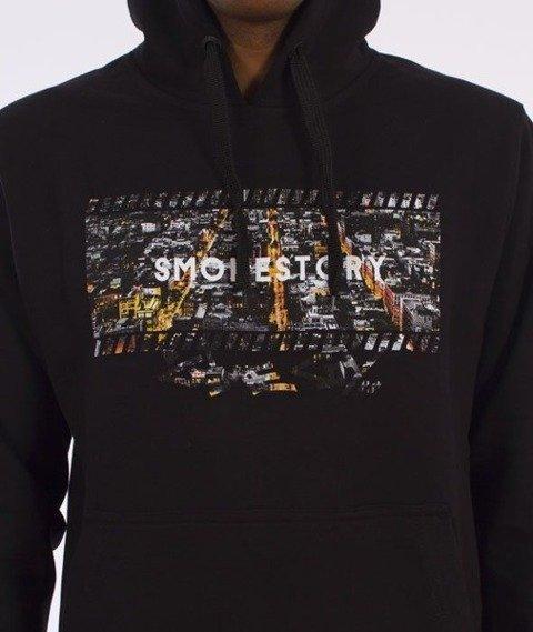 SmokeStory-Dark City Frame Bluza Kaptur Czarny