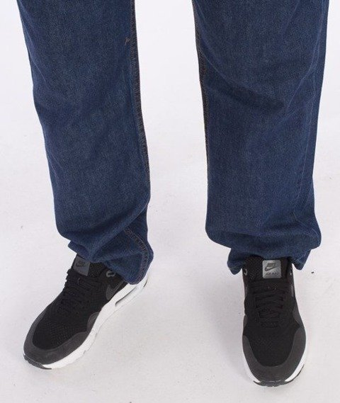 SmokeStory-Dark City Pocket Regular Jeans Medium Blue