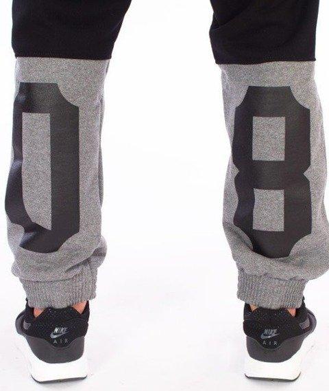 SmokeStory-Double 08 Jogger Spodnie Dresowe Czarne
