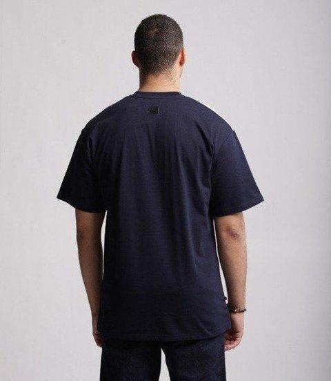 SmokeStory-Double Half T-Shirt Granatowy