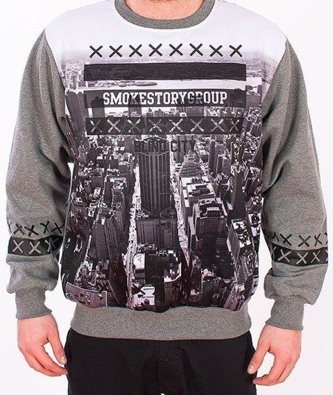 SmokeStory-Downtown Bluza Szara