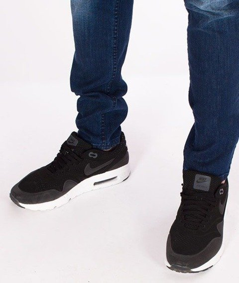 SmokeStory-Jeansy Stretch Straight Fit Guma Medium Cieniowane
