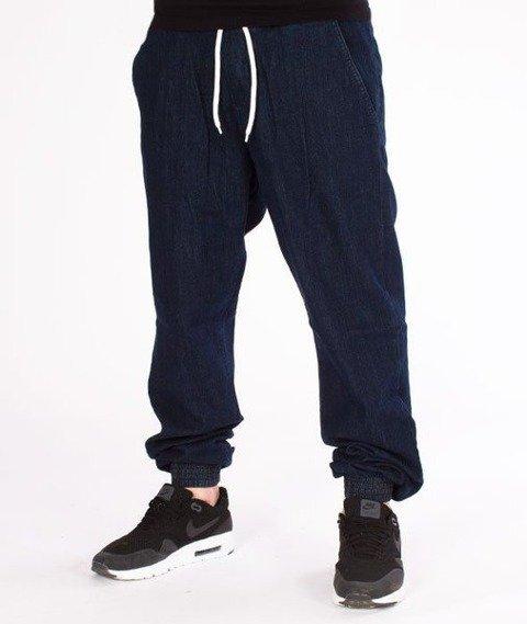 SmokeStory-Jogger Jeans Regular Guma Dark Blue