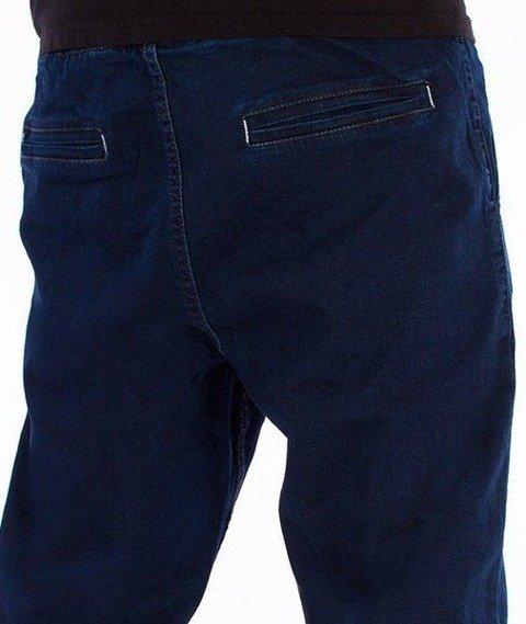 SmokeStory-Jogger Jeans Regular Gumka Medium Blue