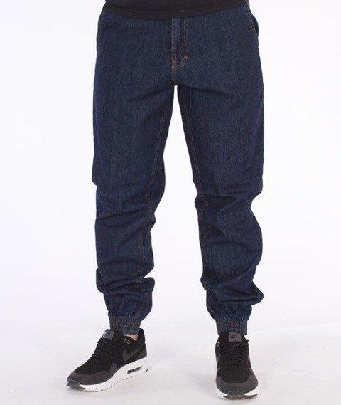 SmokeStory-Jogger Regular Classic Jeans Dark Blue