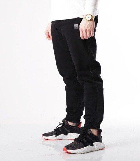 SmokeStory-Lampas Black Spodnie Jogger Czarny