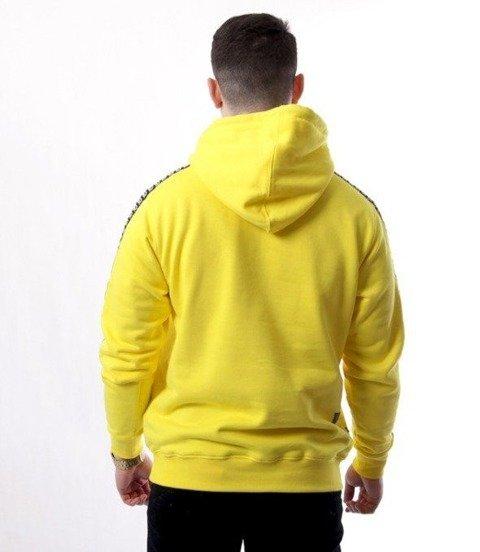 SmokeStory-Lampas Bluza Kaptur Żółta