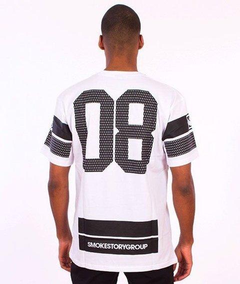 SmokeStory-Lines T-Shirt Biały
