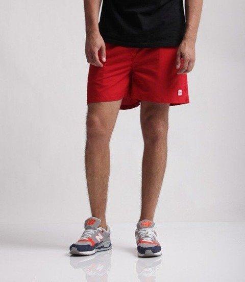 SmokeStory-Logo Krótkie Spodnie Mikrofibra Czerwone