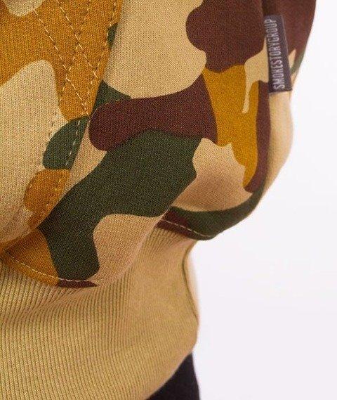 SmokeStory-Moro Colors Premium Bluza z Kapturem Kolorowe Camo