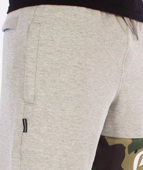 SmokeStory-Moro Line Regular Spodnie Dresowe Szare