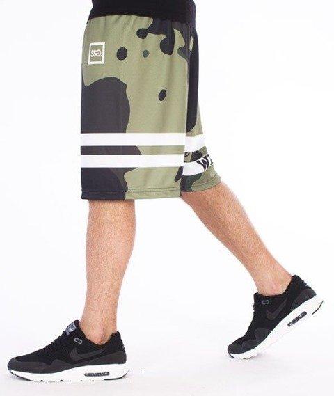 SmokeStory-Moro Lines Krótkie Spodnie Full Print Moro