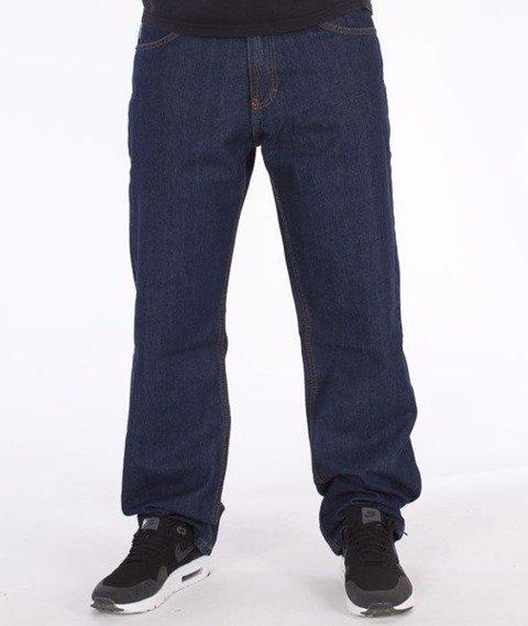 SmokeStory-Outline Regular Jeans Dark Blue