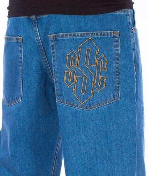 SmokeStory-Outline SSG Regular Jeans Light Blue