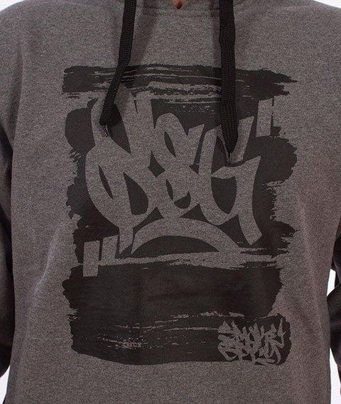 SmokeStory-Paint Tag SSG Bluza Kaptur Grafitowa
