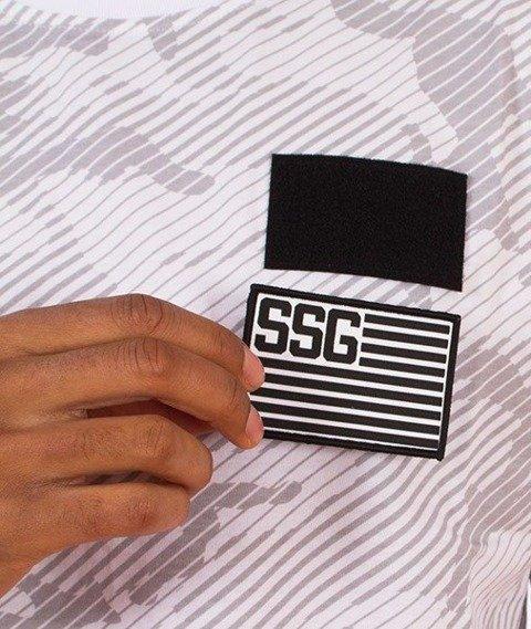SmokeStory-Premium Flag Moro Line T-Shirt Białe Camo