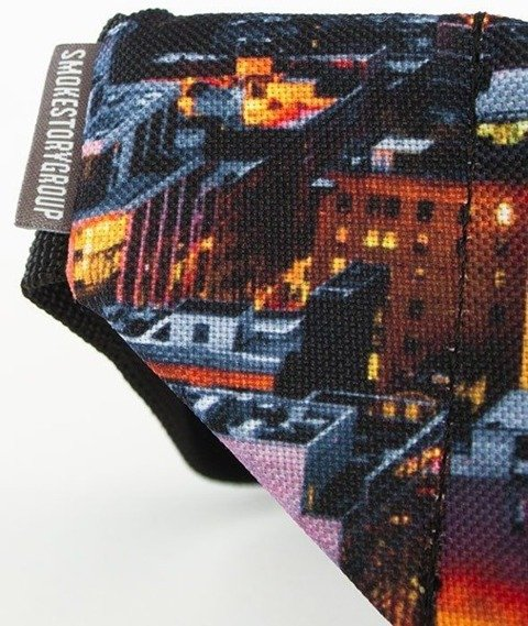 SmokeStory-Print City Saszetka Nerka Dark City