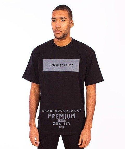SmokeStory-Rectanagle T-Shirt Czarny