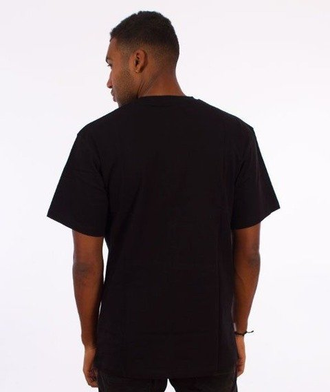 SmokeStory-SMG Slant T-Shirt Czarny