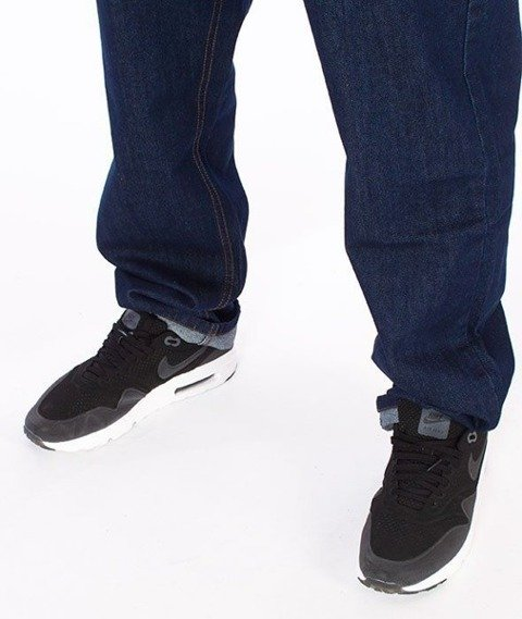 SmokeStory-SMG Slim Jeans Dark Blue