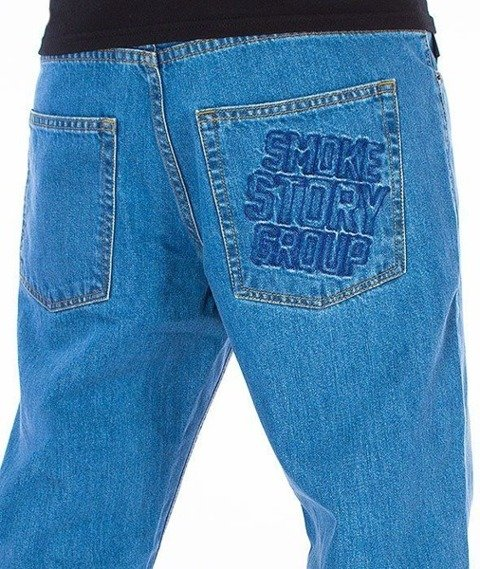 SmokeStory-SMG Slim Jeans Light Blue
