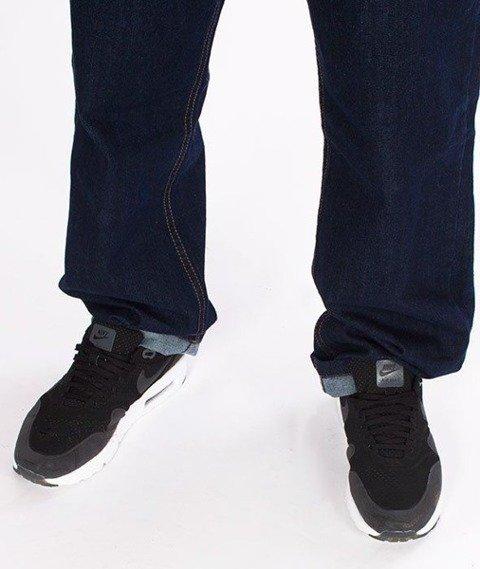 SmokeStory- SSG Classic Regular Jeans Spodnie Dark Blue