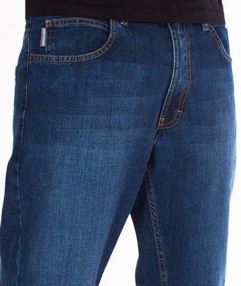 SmokeStory- SSG Classic Slim Jeans Spodnie Wycierane