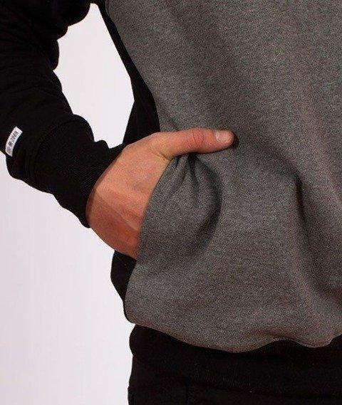 SmokeStory-SSG Cut Bottom Bluza Kaptur Czarna