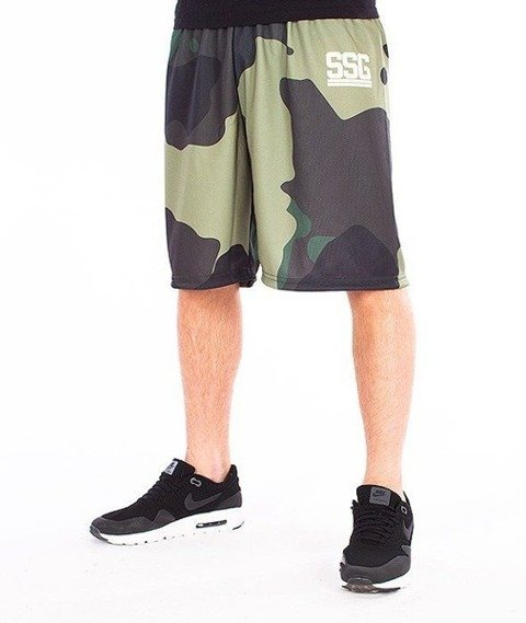 SmokeStory-SSG Moro Krótkie Spodnie Full Print Moro