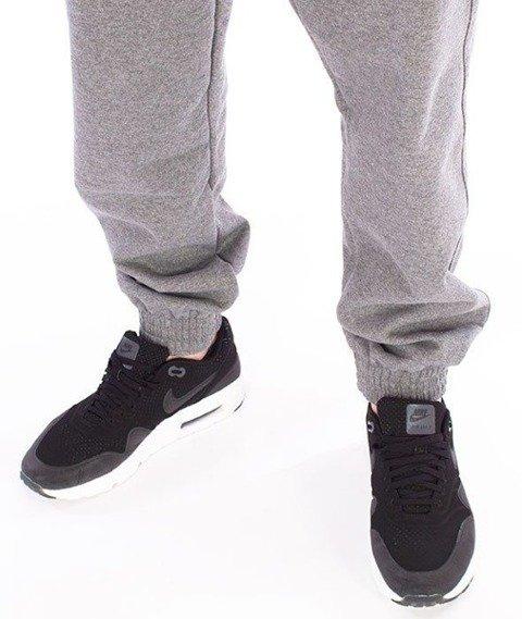 SmokeStory-SSG New Jogger Spodnie Dresowe Ciemny Melanż
