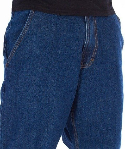 SmokeStory-SSG Tag Jogger Jeans Regular Spodnie Medium Blue