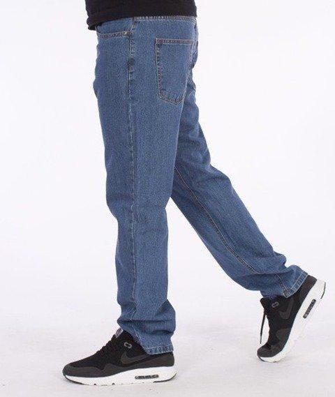 SmokeStory-SSG Tag Slim Jeans Light Blue
