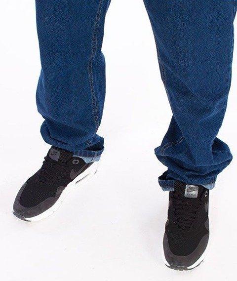 SmokeStory-SSG Tag Slim Jeans Spodnie Medium Blue