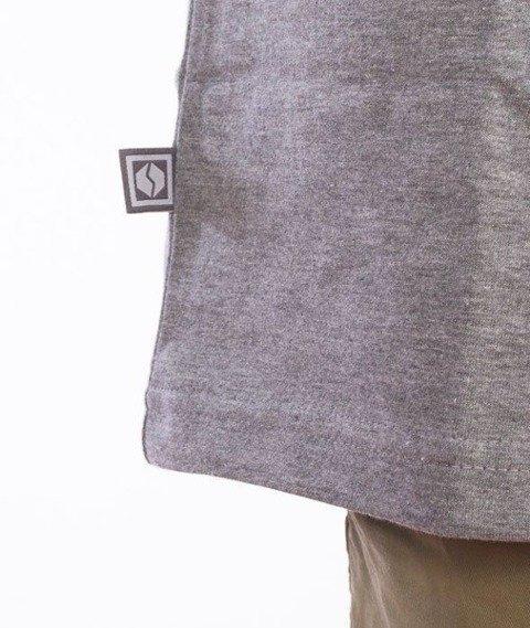 SmokeStory-SSG Tag T-Shirt Szary