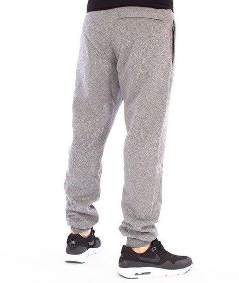 SmokeStory-Slim Slim Classic SSG Spodnie Dresowe Ciemny Szary