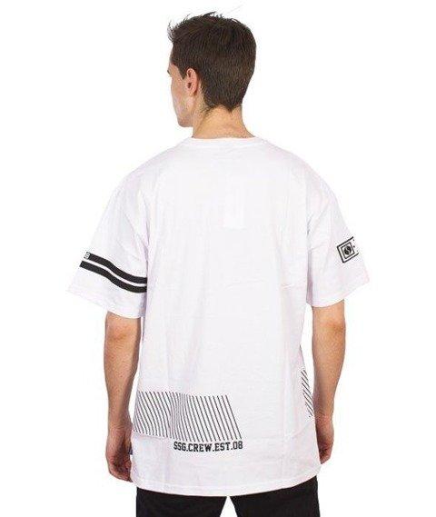 SmokeStory-Small Lines T-Shirt Biały