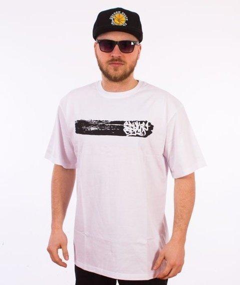 SmokeStory-Smoke Line T-Shirt Biały