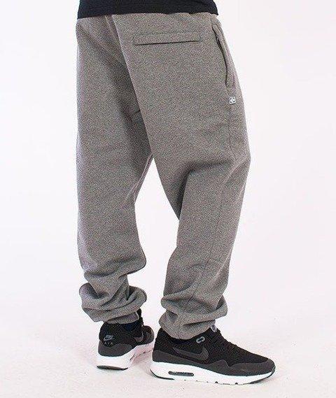 SmokeStory-Smoke Regular Spodnie Dresowe Ciemny Melanż