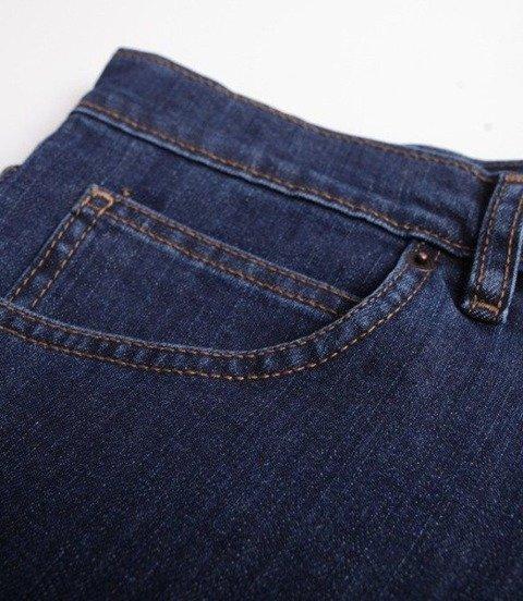SmokeStory-Square SSG Krótkie Spodnie Dark Jeans