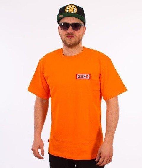 SmokeStory-Street Colors Logo T-Shirt Pomarańczowy