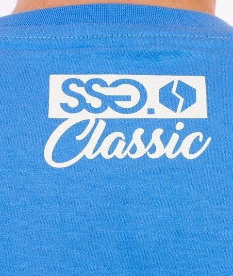 SmokeStory-Street Colors T-Shirt Niebieski