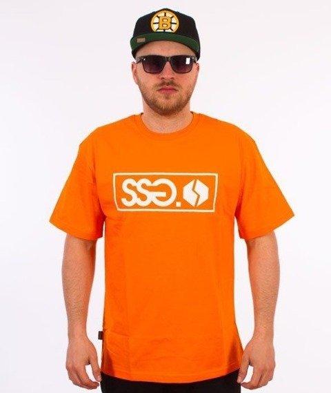 SmokeStory-Street Colors T-Shirt Pomarańczowy