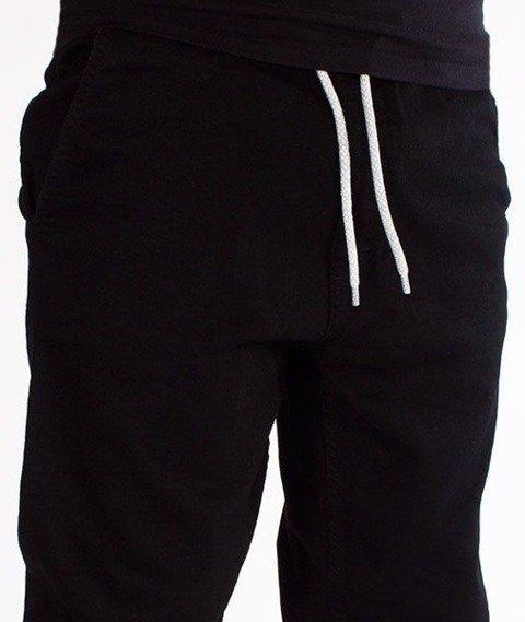 SmokeStory-Stretch Straight Fit Jeans Guma Spodnie Czarny Jeans