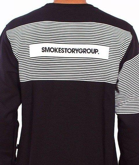 SmokeStory-Stripes Bluza Czarna