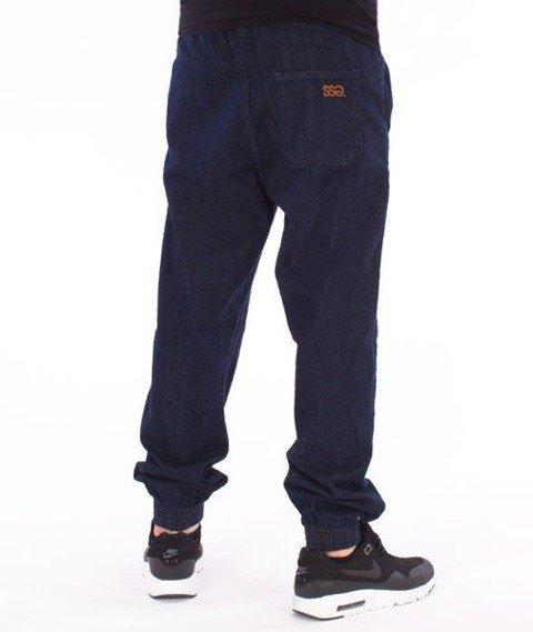 SmokeStory-Tag Jeans Jogger Regular Guma Spodnie Dark Blue