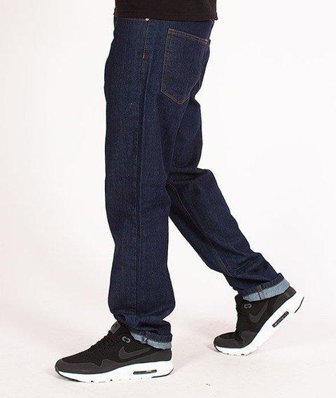 SmokeStory-Tag Slim Jeans Dark Blue