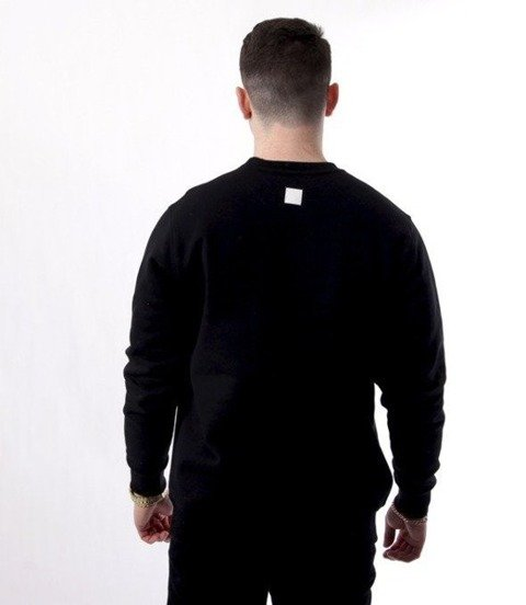 SmokeStory-White Belt Bluza Czarna