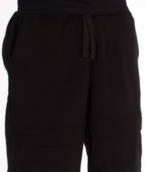 Southpole-Anorak Fashion Fleece Short Spodnie Krótkie Black
